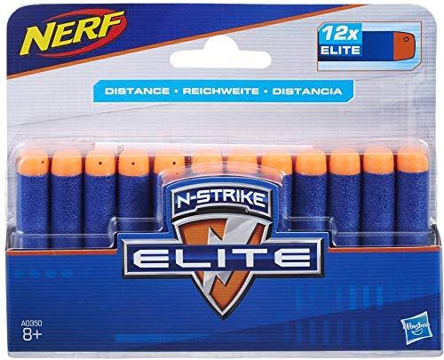 Hasbro Nerf N Strike Elite Ricarica da 12 Dardi