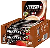 Nescafe 3 in 1 Brown Sugar Instant Coffee Single Packets 28x17g