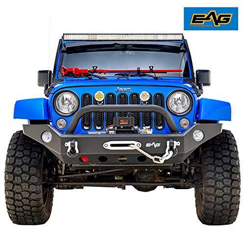 EAG 07-18 Jeep Wrangler JK Front Bumper