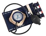 Spengler Tensiomètre Vaquez-Laubry Classic avec Brassard Sangles Coton Marine Adulte Taille m