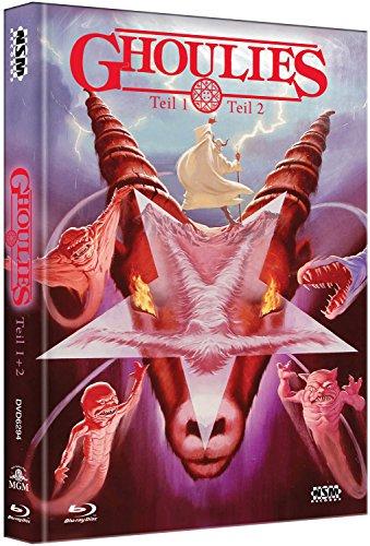 Ghoulies 1 & 2 [2 Blu-Ray+ 2 DVD] - uncut - auf 444 limitiertes Mediabook [Alemania] [Blu-ray]