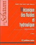MECANIQUE DES FLUIDES ET HYDRAULIQUE. Cours et problèmes, 2ème édition