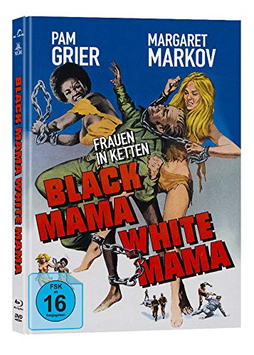 Black Mama, White Mama - Frauen in Ketten - Mediabook - Cover A - 2-Disc Limited Collector's Edition auf 444 Stück   (+ DVD) [Blu-ray]