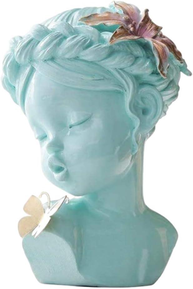 Gazechimp Human Ranking TOP15 Head Girl Figurine Resin lowest price Decoration Wom Statue