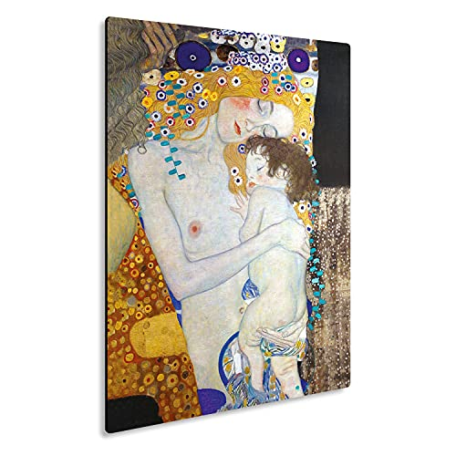 Giallobus - Giallopanel Art Board - Gustav Klimt - Maternidad - Madera de MDF - 21x29,7