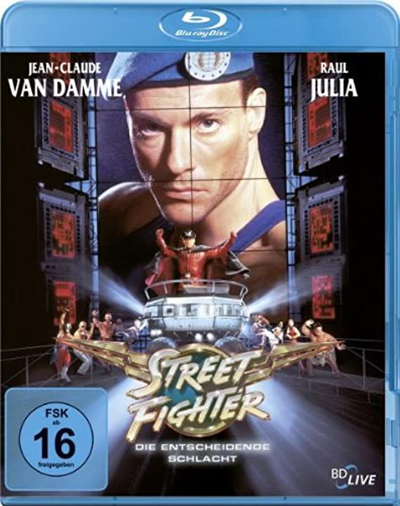 Film - street fighter - jean claude van damme  (blu-ray)  sony pictures home entertainment B001MYXFTG
