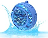 CYBORIS Bluetooth Speakers,Portable Wireless IPX7 Waterproof Floating Bluetooth Speaker with TWS Function, Deep Bass, Stereo Pairing,Durable for Swimming Pool,Beach,Shower,Travel (Blue)