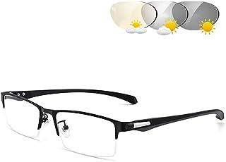 Mens Womens Sunglasses Transitional Photochromic Leesbril Gepolariseerde Ultra Light Frame UV400 Protection Night Driving ...
