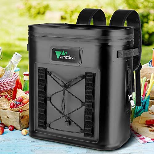 Amzdeal Mochila Nevera: Refrigeradora Térmica y Impermeable  Bolsa Anti Fugas para Almuerzo