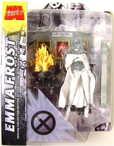 EMMA FROST Clear Diamond Variant (White Queen) Action Figure by Marvel Select - X-men