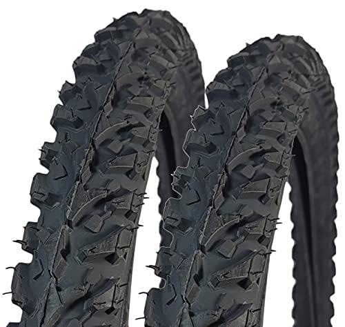 2X Fahrradreifen Innova 24 x 1.95 (52-507) 24 Zoll Drahtreifen MTB Jugendfahrrad Fahrradmantel