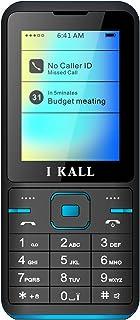 I KALL K37 Premium Keypad Mobile (Dual Sim, 1000 mAh) (Blue)