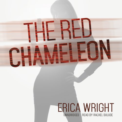 The Red Chameleon audiobook cover art