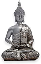 Statue Statue Sculptures Buddha Statue Decorative Resin Statue for Home Decorations Gift Figurine Decor Sculpture-Silver_1...