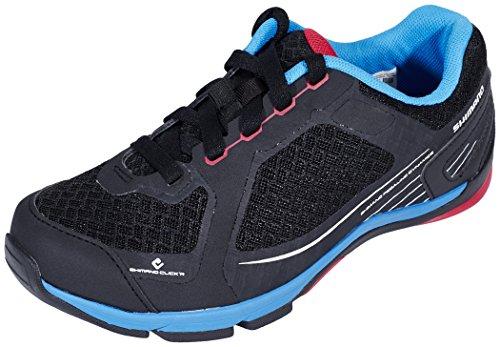 Shimano SH-CW41 - Zapatillas de ciclismo unisex, Negro (Black), 40 EU
