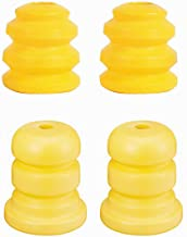 JoyTutus Arm Bumpers 15153958 905-208 and Axle Bumpers Rear 15039397, Two Control Arm Bumps and Two Control Rear Bumps, and Durable Material Long Life Easy to Install, 4-pack