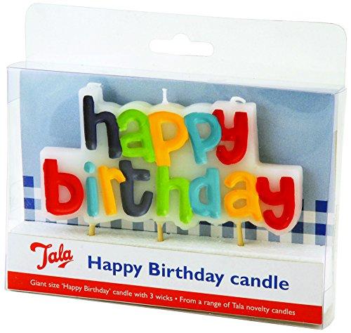 Tala - Candela, Motivo: Happy Birthday