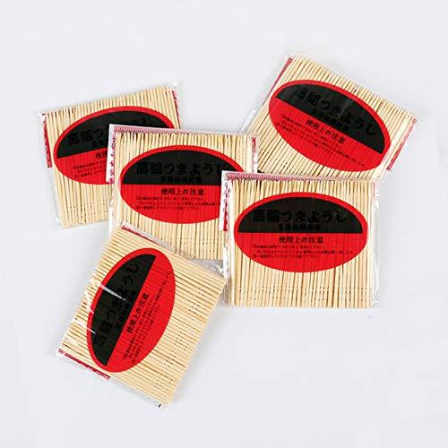 Firesofheaven Mini-Zahnstocher mit Armbrust aus Bambus, 500 Stück, 5 Packungen mit 100 Stück, für Partys, Essen, Appetizer, Obst, Cocktail, Dessert, Grill, Kunst, Zahnreinigung