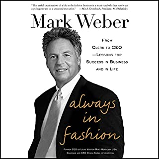 Always in Fashion audiobook cover art
