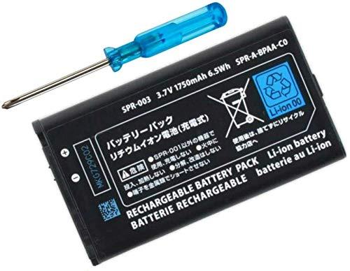 Todobarato24h Bateria + Destornillador de desmontaje para Nintendo 3DS XL/New 3DS XL 1750 mAh 3.7V 6.5Wh Li-Ion Battery Modelo SPR-003