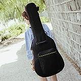 Gitarrentasche, 41 Zoll (10,8 cm), Schultertasche, Tasche, Tasche, für Gitarre, Bass, weiche...