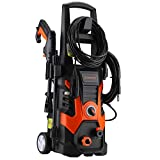 Händewerk 13 AMP 1.5GPM Electric Pressure Washer 1900 PSI incloud quick connect Power Hose Gun 3 various Nozzles Soap Dispenser and wash brush