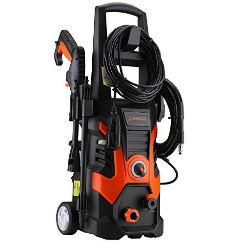 Händewerk 13 AMP 1.5GPM Electric Pressure Washer 1900 PSI incloud quick connect Power Hose Gun 3...