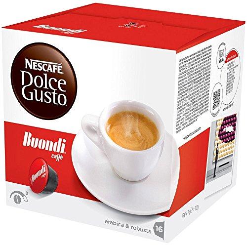 Nescafè(R) Original Kaffee Kapseln Dolce Gusto BUONDI' CAFFE' - 96 Kapseln