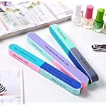 Beauty Shopping Nail File 7 Inches Long 4 Fingernail Files in 1 Professional Care Manicure Tools