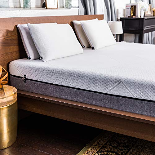 Yogabed King. 10 inch 4-Layer Yogagel Memory Foam System, Bed in a Box, Thermocool Fiber, No-Lift Zip-N-Wash Cover, 101 Night Trial, 10 Year Warranty, Made in USA