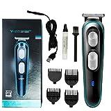 Cortapelos Hombre Profesional, Recortadora de barba, Maquina Cortadora de Pelo Recargable, Máquina de Afeitar, Recortadora Barba y Precisión Impermeable USB 4 en 1