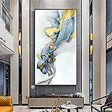 Geiqianjiumai Abstrakte Ölgemälde Pop Art Gold Ölgemälde rahmenlose Malerei auf Wohnzimmer...