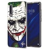 INKOVER Samsung Galaxy A50 Custodia Cover Protettiva Guscio Soft Case Bumper Trasparente Opaca Sottile Slim Fit TPU Gel Morbida Design Joker Faccia Disegno