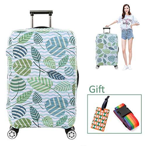 Luggage cover Kofferhülle Elastische Reisegepäckabdeckung Schutzhülle Staubdicht Dicker, verschleißfester Digitaldruck für 18-32 Zoll,1,XL
