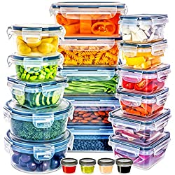 top 10 locking lid containers Full Star Food Container with Lid – Plastic Food Container with Lid – Plastic…