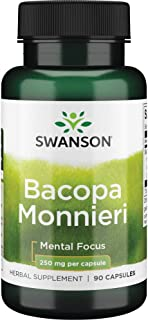 Sponsored Ad - Swanson Bacopa Monnieri Extract Bacognize 250 Milligrams 90 Capsules