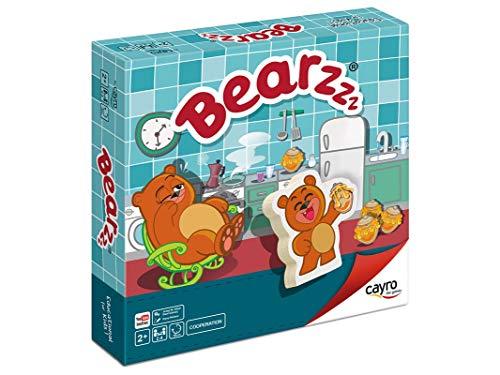 Cayro - Bearzzz - Juego de Mesa Infantil - Juego de cooperación...