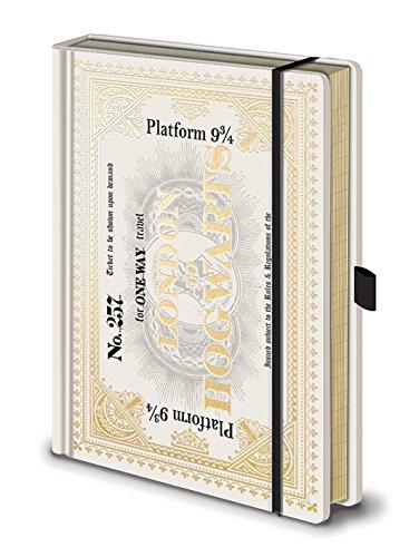 Hogwarts Express Ticket Premium Notebook