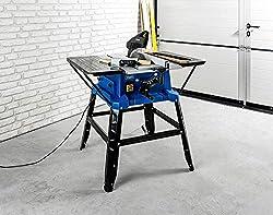 Scheppach Tischkreissäge 2000W HS250L SE Laser mit Untergestell & Verbreiterung