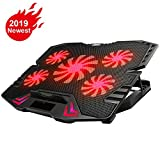 Best Gaming Laptop Coolers - KEROLFFU Gaming Laptop Cooler 12-15.6inch 5-Fans 2500RPM Strong Review