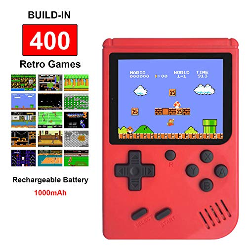 Fiotasy Handheld Retro FC Game Consoles for Boy Girls...