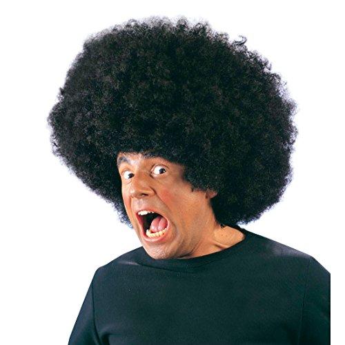 NET TOYS Mega Perruque Afro géante Jimmy Noir Perruque Afro XL Jumbo géant Super Perruque
