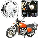 NOPNOG Faro halógeno para Motocicleta, Conjunto de Faro, CC 12 V, para Honda Hornet 600900 CB400