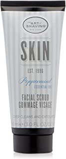The Art of Shaving Face Scrub for Men - Gently Exfoliates Skin, Deeply Cleanses Pores, Releases Hair to Help Prevent Ingro...