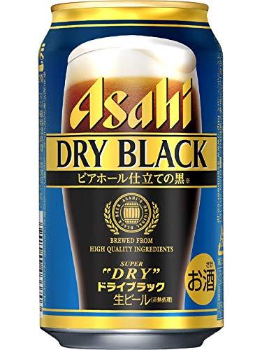 アサヒ スーパードライ ドライブラック 黒ビール 350ml×1ケース(24本) ■3箱まで1個口発送可 [並行輸入品]