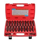 BALLSHOP 23 tlg Auto Entriegelungswerkzeug Auspinwerkzeug Steckkontakte ISO Stecker Werkzeug Entriegelung Lösewerkzeug für KFZ