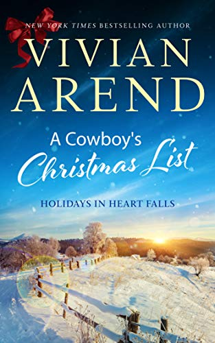 A Cowboy's Christmas List (Holidays in Heart Falls Book 4)