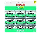 Maxell MC-60 UR Microcassettes (Pack of 9)