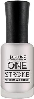 Jaquline USA One Stroke Premium Nail Enamel, Silver Sand 01, 8 ml