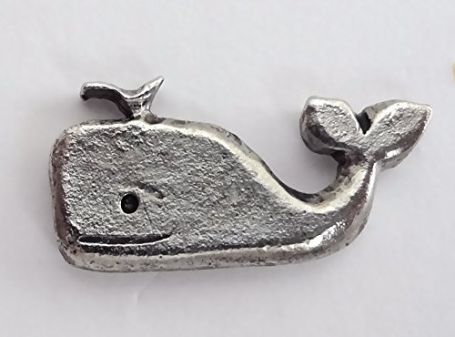 15 Decorative Whale Push PINS